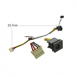 Laptop Dc power jack with wire PJ080