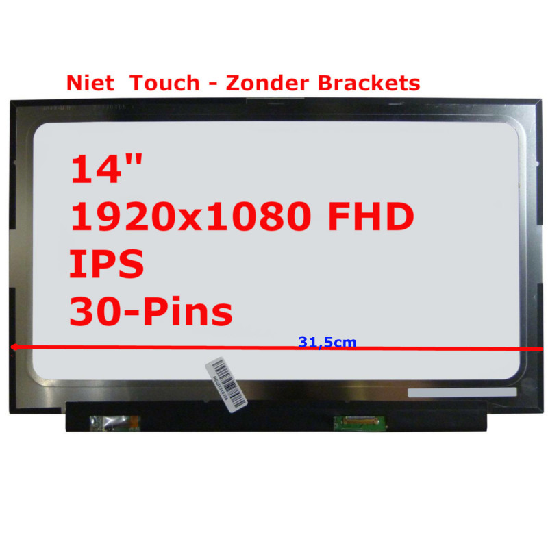Laptop Scherm 15,6 inch 1366x768 WXGAHD (CCFL) B156XW01