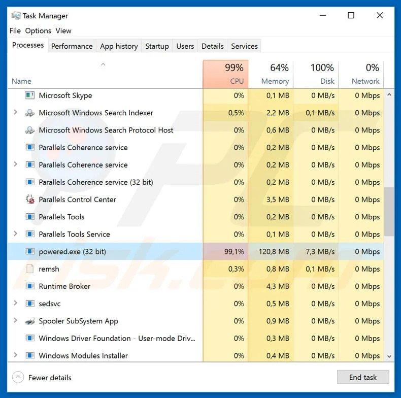 HP laptop ventilator malware