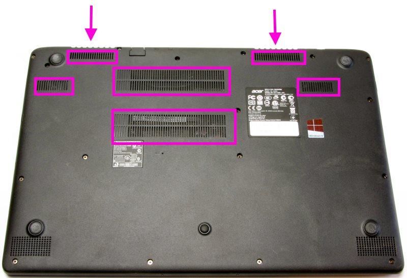 HP laptop ventilator vervangen - proces kill