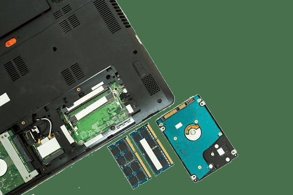 Laptop gaat niet aan, andere hardware