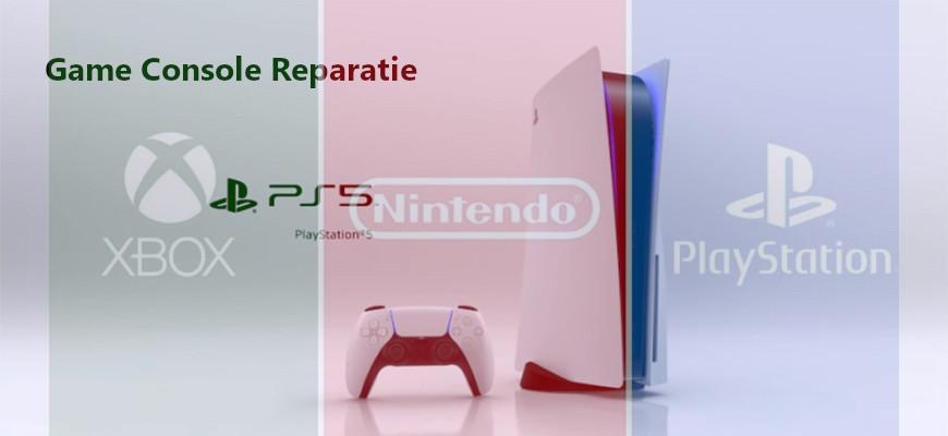 Playstation, XBOx en Nintendo Reparatie
